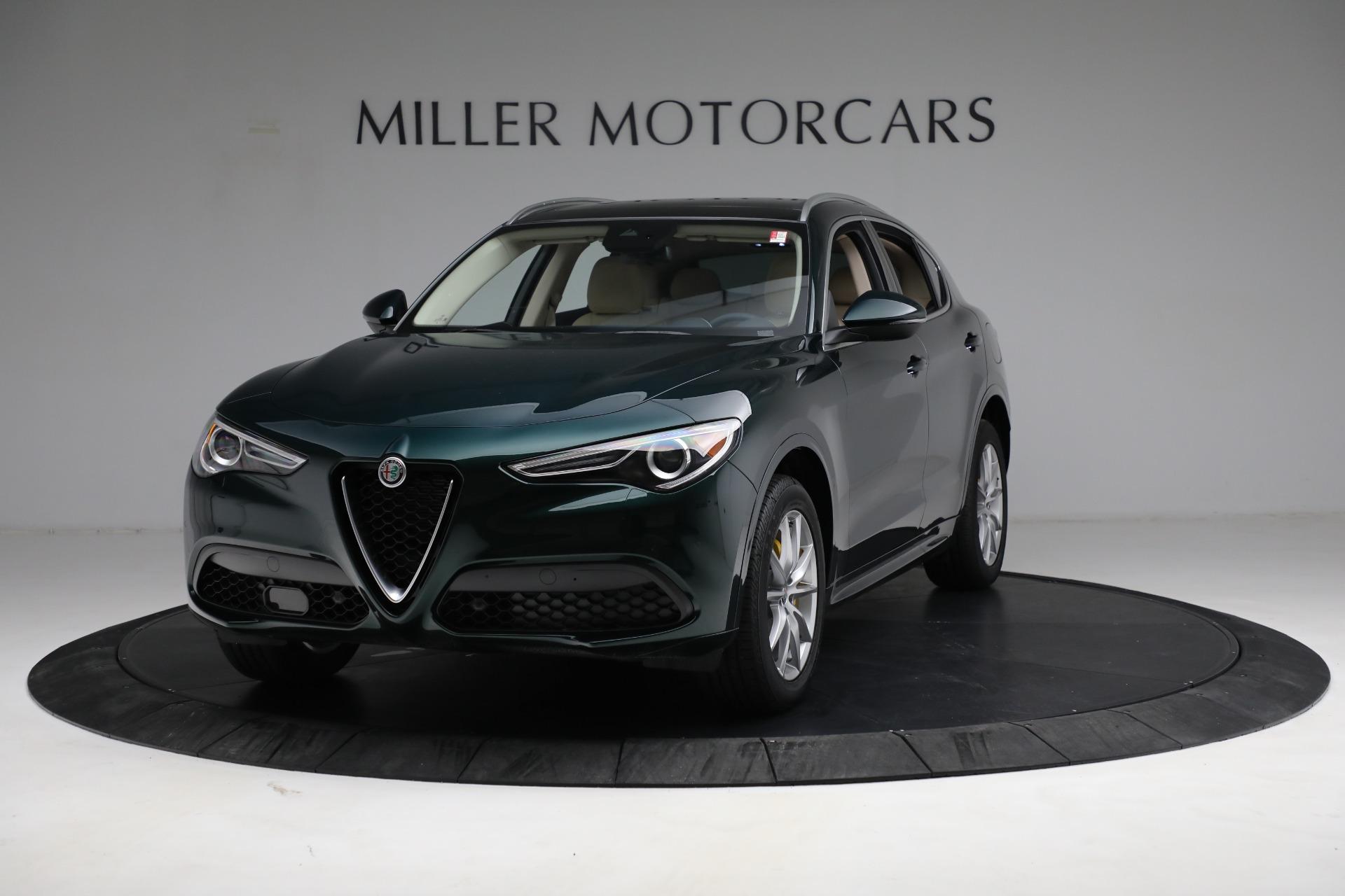 New 2021 Alfa Romeo Stelvio Ti Q4 for sale $55,205 at Pagani of Greenwich in Greenwich CT 06830 1
