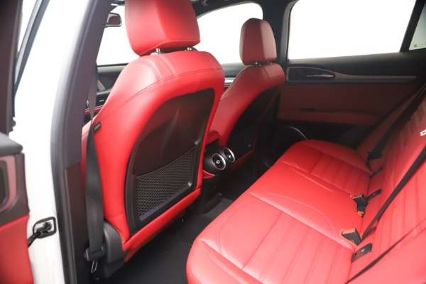 New 2021 Alfa Romeo Stelvio Ti Sport Q4 for sale Sold at Pagani of Greenwich in Greenwich CT 06830 17