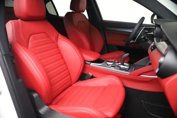 New 2021 Alfa Romeo Stelvio Ti Sport Q4 for sale Sold at Pagani of Greenwich in Greenwich CT 06830 20