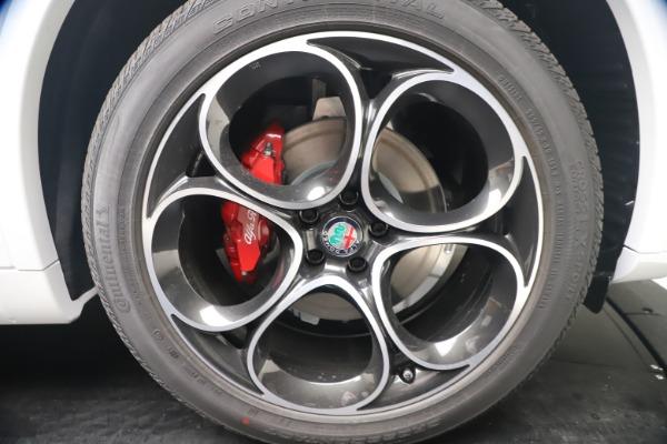 New 2021 Alfa Romeo Stelvio Ti Sport Q4 for sale Sold at Pagani of Greenwich in Greenwich CT 06830 22
