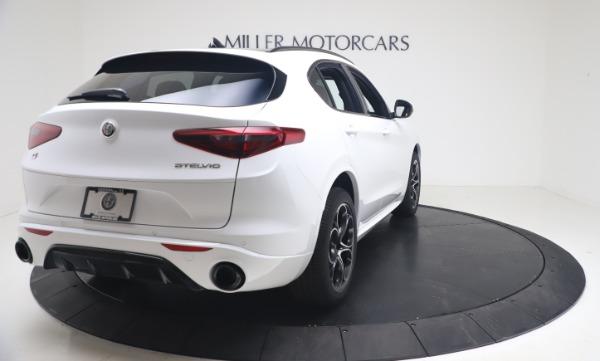 New 2021 Alfa Romeo Stelvio Ti Sport Q4 for sale Sold at Pagani of Greenwich in Greenwich CT 06830 7