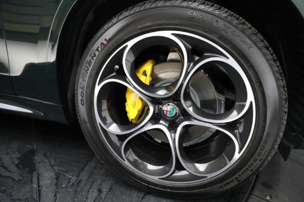 New 2021 Alfa Romeo Stelvio Ti Sport Q4 for sale Sold at Pagani of Greenwich in Greenwich CT 06830 23