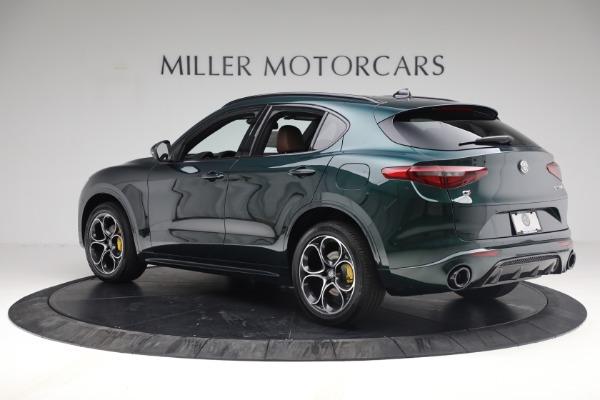 New 2021 Alfa Romeo Stelvio Ti Sport Q4 for sale Sold at Pagani of Greenwich in Greenwich CT 06830 4