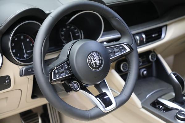 New 2021 Alfa Romeo Stelvio Ti Q4 for sale $57,400 at Pagani of Greenwich in Greenwich CT 06830 19