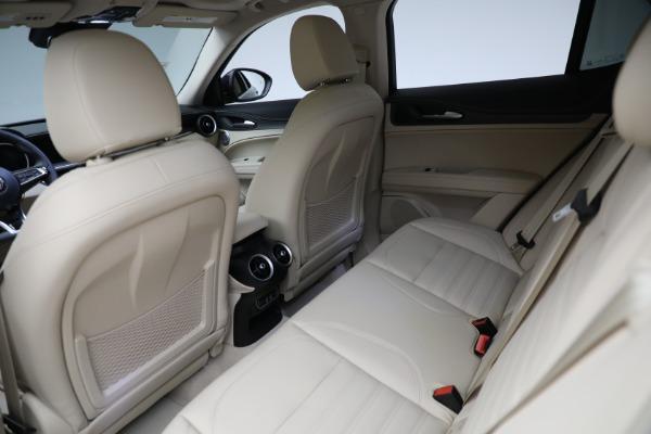 New 2021 Alfa Romeo Stelvio Ti Q4 for sale $57,400 at Pagani of Greenwich in Greenwich CT 06830 25