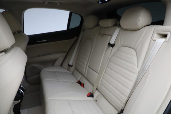 New 2021 Alfa Romeo Stelvio Ti Q4 for sale $57,400 at Pagani of Greenwich in Greenwich CT 06830 27