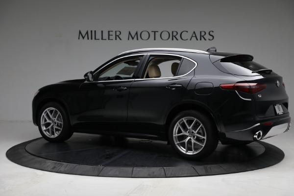 New 2021 Alfa Romeo Stelvio Ti Q4 for sale $57,400 at Pagani of Greenwich in Greenwich CT 06830 4