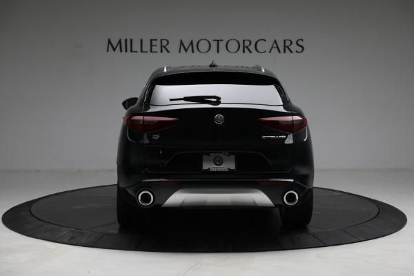 New 2021 Alfa Romeo Stelvio Ti Q4 for sale $57,400 at Pagani of Greenwich in Greenwich CT 06830 6