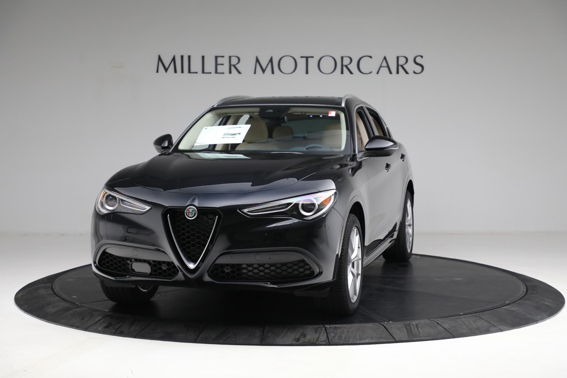 New 2021 Alfa Romeo Stelvio Ti Q4 for sale $57,400 at Pagani of Greenwich in Greenwich CT 06830 1