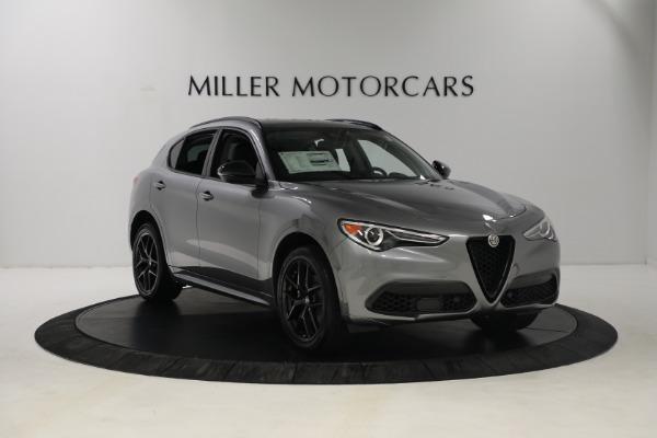New 2021 Alfa Romeo Stelvio Ti Q4 for sale $54,400 at Pagani of Greenwich in Greenwich CT 06830 10