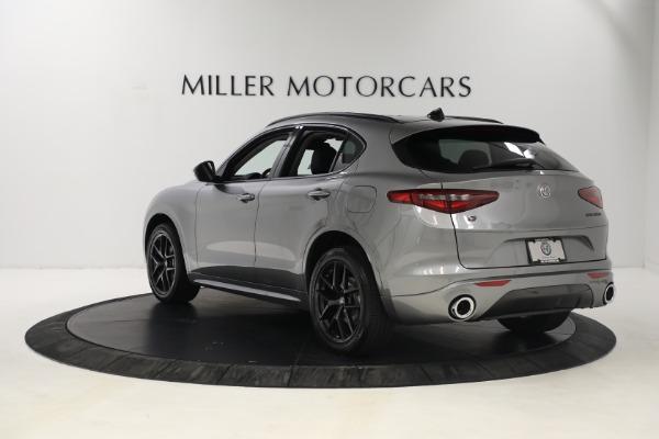 New 2021 Alfa Romeo Stelvio Ti Q4 for sale $54,400 at Pagani of Greenwich in Greenwich CT 06830 5