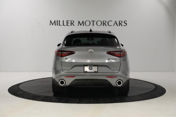 New 2021 Alfa Romeo Stelvio Ti Q4 for sale $54,400 at Pagani of Greenwich in Greenwich CT 06830 6