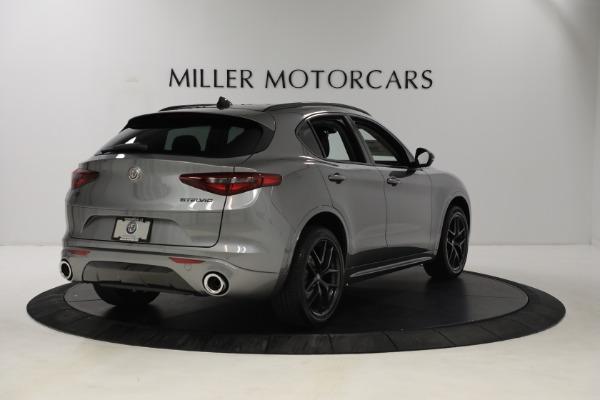 New 2021 Alfa Romeo Stelvio Ti Q4 for sale $54,400 at Pagani of Greenwich in Greenwich CT 06830 7