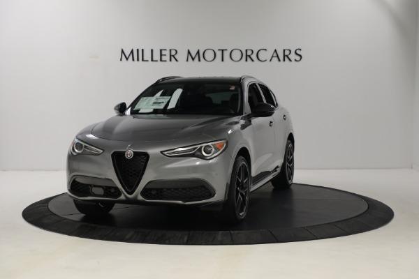 New 2021 Alfa Romeo Stelvio Ti Q4 for sale $54,400 at Pagani of Greenwich in Greenwich CT 06830 1