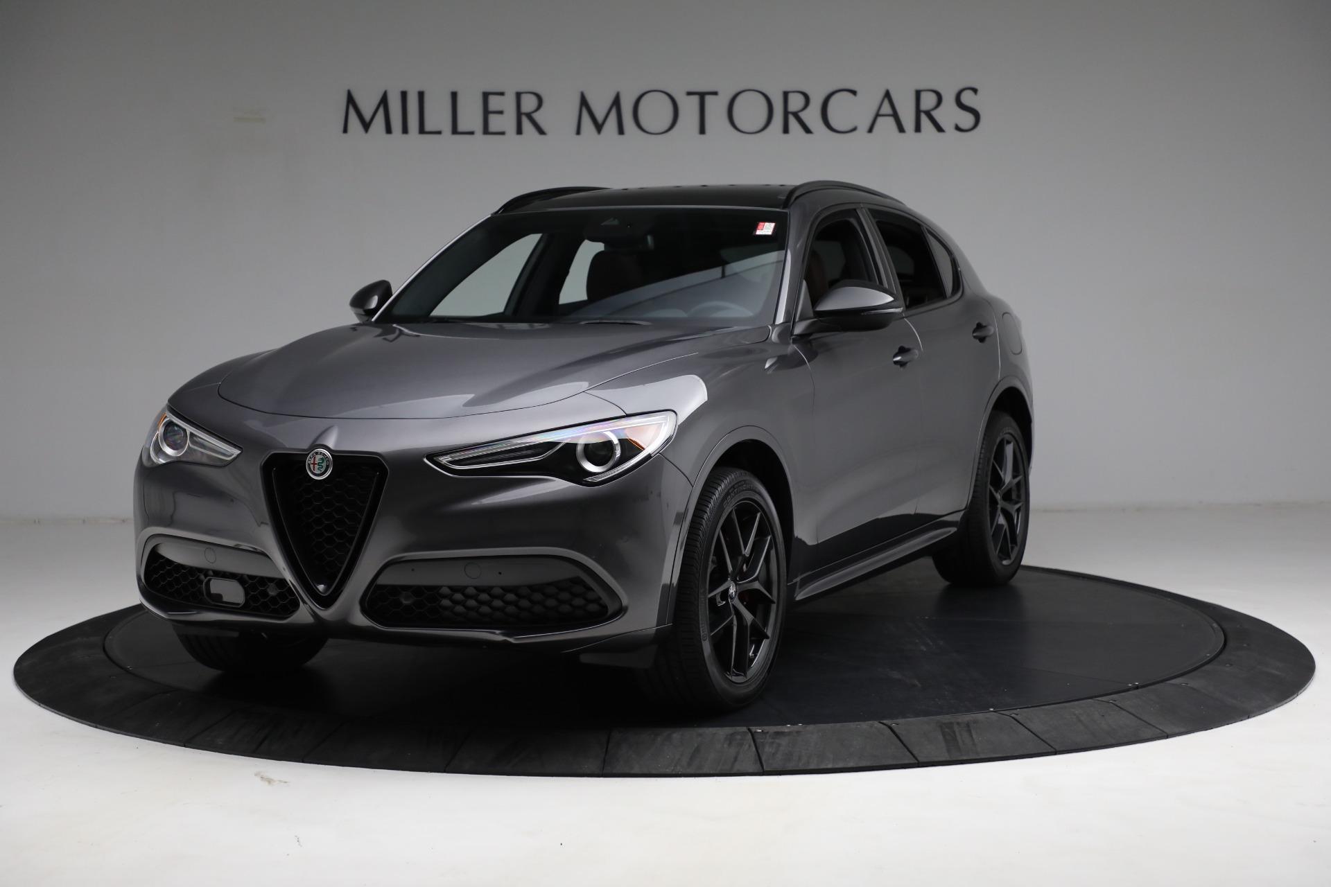 New 2021 Alfa Romeo Stelvio Ti Sport Q4 for sale $55,205 at Pagani of Greenwich in Greenwich CT 06830 1