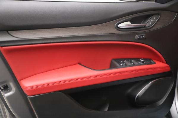 New 2021 Alfa Romeo Stelvio Ti Q4 for sale $54,400 at Pagani of Greenwich in Greenwich CT 06830 13