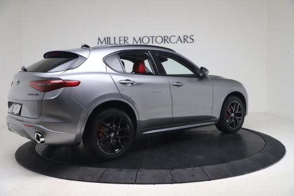 New 2021 Alfa Romeo Stelvio Ti Q4 for sale $54,400 at Pagani of Greenwich in Greenwich CT 06830 8