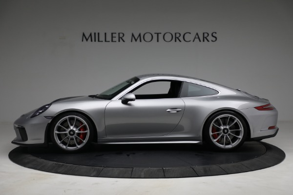 Used 2018 Porsche 911 GT3 Touring for sale Sold at Pagani of Greenwich in Greenwich CT 06830 3