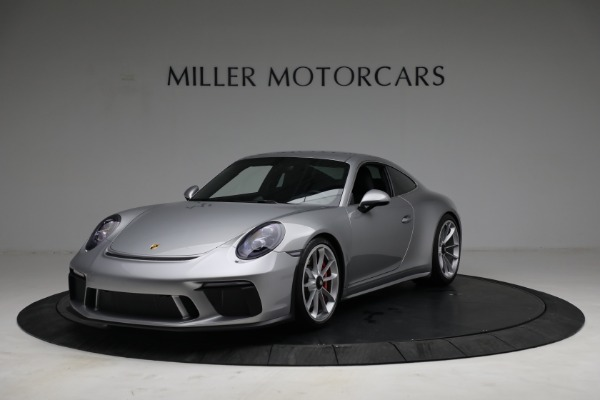 Used 2018 Porsche 911 GT3 Touring for sale Sold at Pagani of Greenwich in Greenwich CT 06830 1