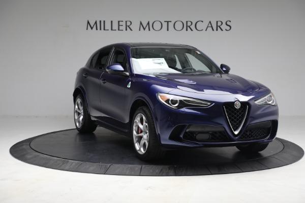 New 2021 Alfa Romeo Stelvio Quadrifoglio for sale $88,550 at Pagani of Greenwich in Greenwich CT 06830 11