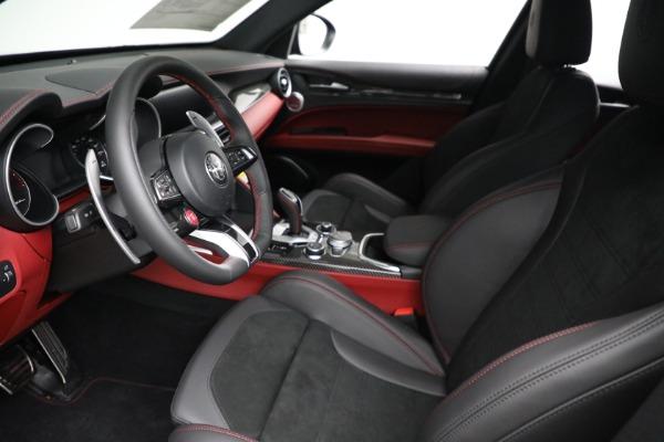 New 2021 Alfa Romeo Stelvio Quadrifoglio for sale $88,550 at Pagani of Greenwich in Greenwich CT 06830 13