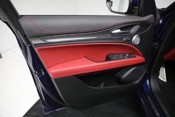New 2021 Alfa Romeo Stelvio Quadrifoglio for sale $88,550 at Pagani of Greenwich in Greenwich CT 06830 16