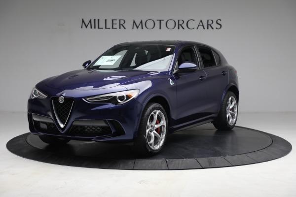 New 2021 Alfa Romeo Stelvio Quadrifoglio for sale $88,550 at Pagani of Greenwich in Greenwich CT 06830 2