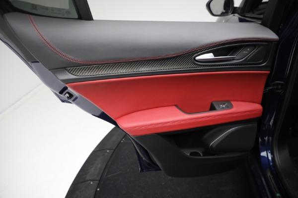 New 2021 Alfa Romeo Stelvio Quadrifoglio for sale $88,550 at Pagani of Greenwich in Greenwich CT 06830 20