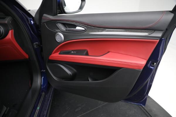 New 2021 Alfa Romeo Stelvio Quadrifoglio for sale $88,550 at Pagani of Greenwich in Greenwich CT 06830 23