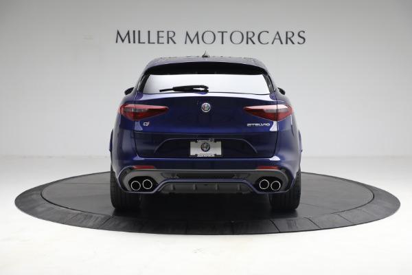 New 2021 Alfa Romeo Stelvio Quadrifoglio for sale $88,550 at Pagani of Greenwich in Greenwich CT 06830 7