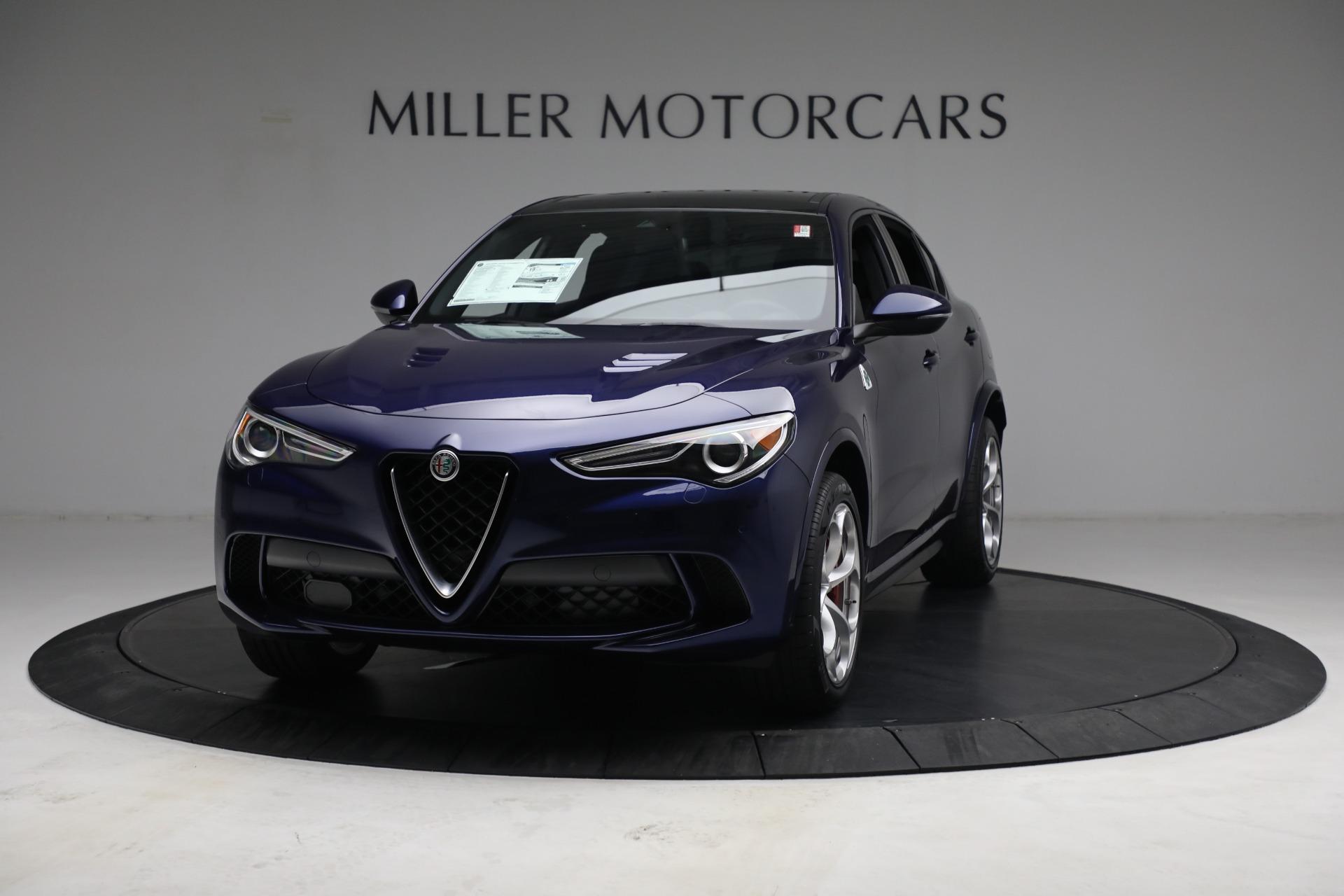 New 2021 Alfa Romeo Stelvio Quadrifoglio for sale $88,550 at Pagani of Greenwich in Greenwich CT 06830 1