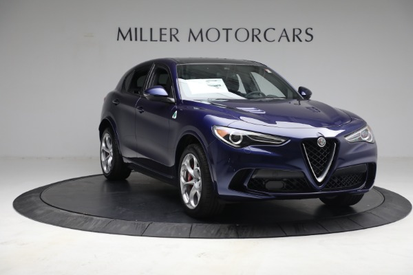 New 2021 Alfa Romeo Stelvio Quadrifoglio for sale $88,550 at Pagani of Greenwich in Greenwich CT 06830 10