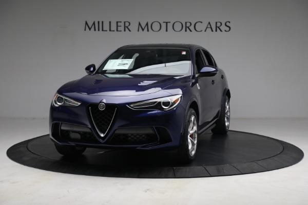 New 2021 Alfa Romeo Stelvio Quadrifoglio for sale $88,550 at Pagani of Greenwich in Greenwich CT 06830 12
