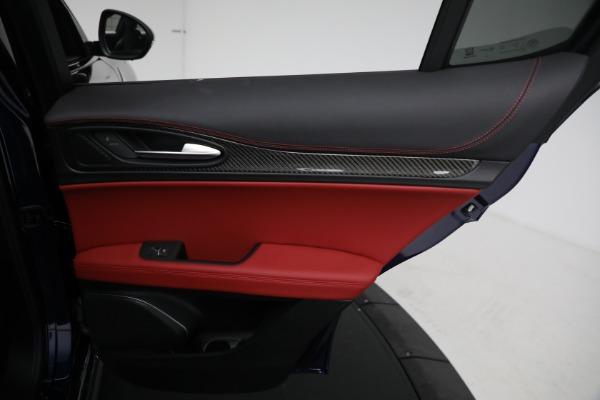 New 2021 Alfa Romeo Stelvio Quadrifoglio for sale $88,550 at Pagani of Greenwich in Greenwich CT 06830 26