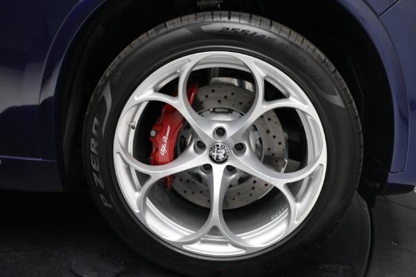 New 2021 Alfa Romeo Stelvio Quadrifoglio for sale $88,550 at Pagani of Greenwich in Greenwich CT 06830 27