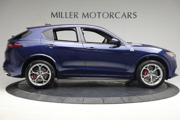 New 2021 Alfa Romeo Stelvio Quadrifoglio for sale $88,550 at Pagani of Greenwich in Greenwich CT 06830 8