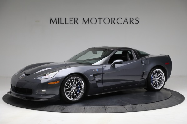 Used 2010 Chevrolet Corvette ZR1 for sale $85,900 at Pagani of Greenwich in Greenwich CT 06830 2