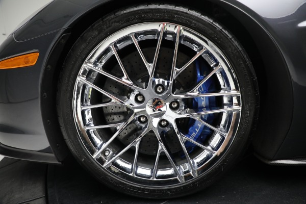 Used 2010 Chevrolet Corvette ZR1 for sale $85,900 at Pagani of Greenwich in Greenwich CT 06830 23
