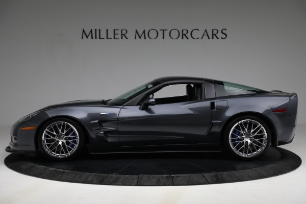 Used 2010 Chevrolet Corvette ZR1 for sale $85,900 at Pagani of Greenwich in Greenwich CT 06830 3