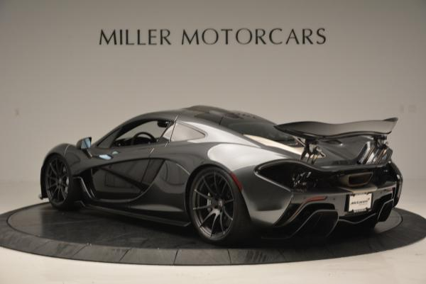 Used 2014 McLaren P1 Coupe for sale Call for price at Pagani of Greenwich in Greenwich CT 06830 5
