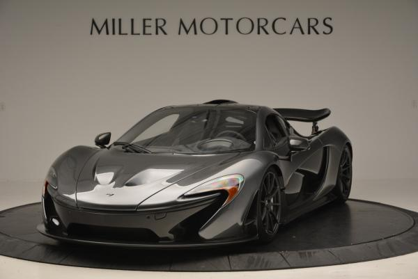 Used 2014 McLaren P1 Coupe for sale Call for price at Pagani of Greenwich in Greenwich CT 06830 1