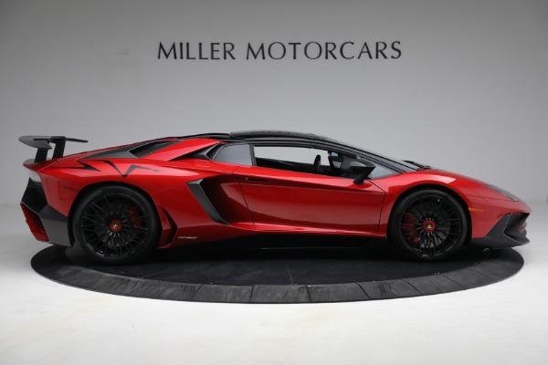 Used 2017 Lamborghini Aventador LP 750-4 SV for sale $599,900 at Pagani of Greenwich in Greenwich CT 06830 12