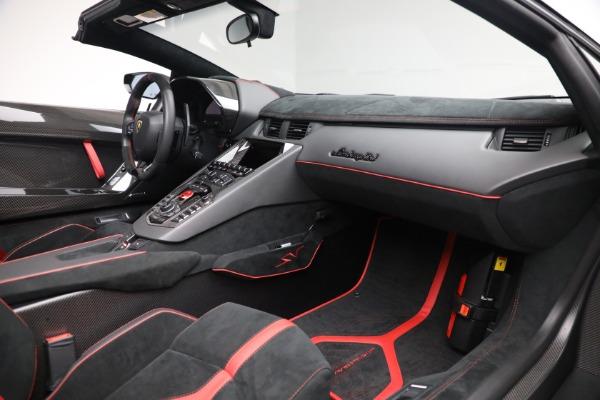 Used 2017 Lamborghini Aventador LP 750-4 SV for sale $599,900 at Pagani of Greenwich in Greenwich CT 06830 22
