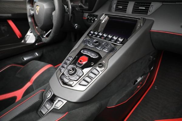Used 2017 Lamborghini Aventador LP 750-4 SV for sale $599,900 at Pagani of Greenwich in Greenwich CT 06830 25