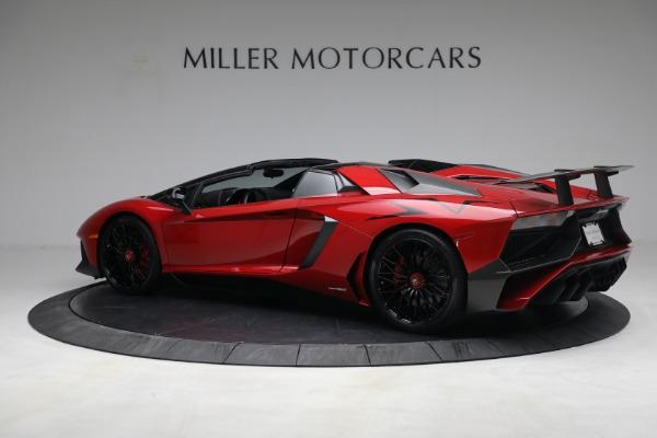 Used 2017 Lamborghini Aventador LP 750-4 SV for sale $599,900 at Pagani of Greenwich in Greenwich CT 06830 4