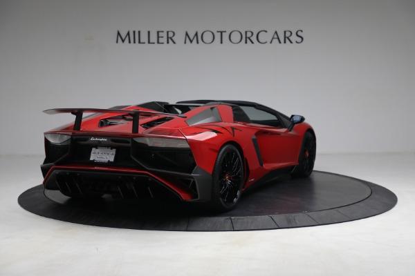 Used 2017 Lamborghini Aventador LP 750-4 SV for sale $599,900 at Pagani of Greenwich in Greenwich CT 06830 7