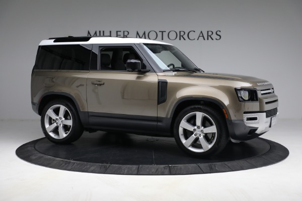 Used 2021 Land Rover Defender 90 First Edition for sale $69,900 at Pagani of Greenwich in Greenwich CT 06830 10