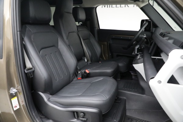 Used 2021 Land Rover Defender 90 First Edition for sale $69,900 at Pagani of Greenwich in Greenwich CT 06830 23