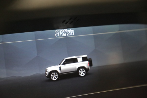 Used 2021 Land Rover Defender 90 First Edition for sale $69,900 at Pagani of Greenwich in Greenwich CT 06830 24