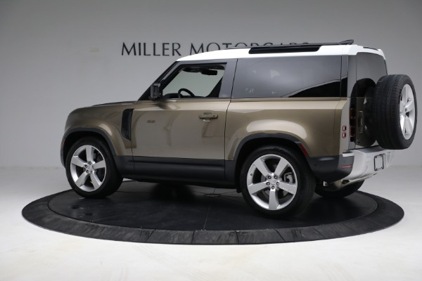 Used 2021 Land Rover Defender 90 First Edition for sale $69,900 at Pagani of Greenwich in Greenwich CT 06830 4